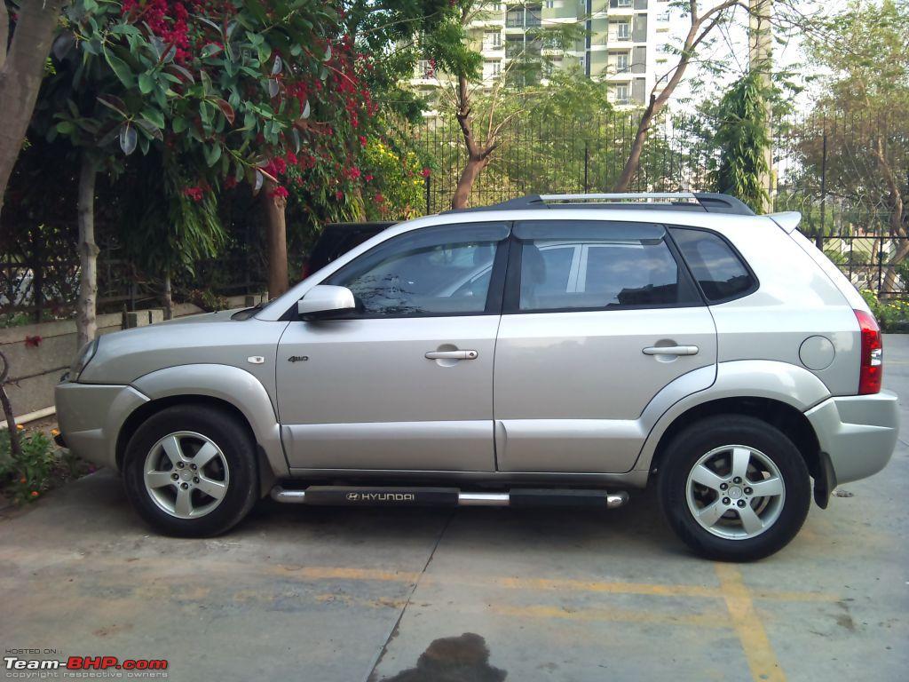 Hyundai Tucson The Silver Fox Comes Home Team Bhp