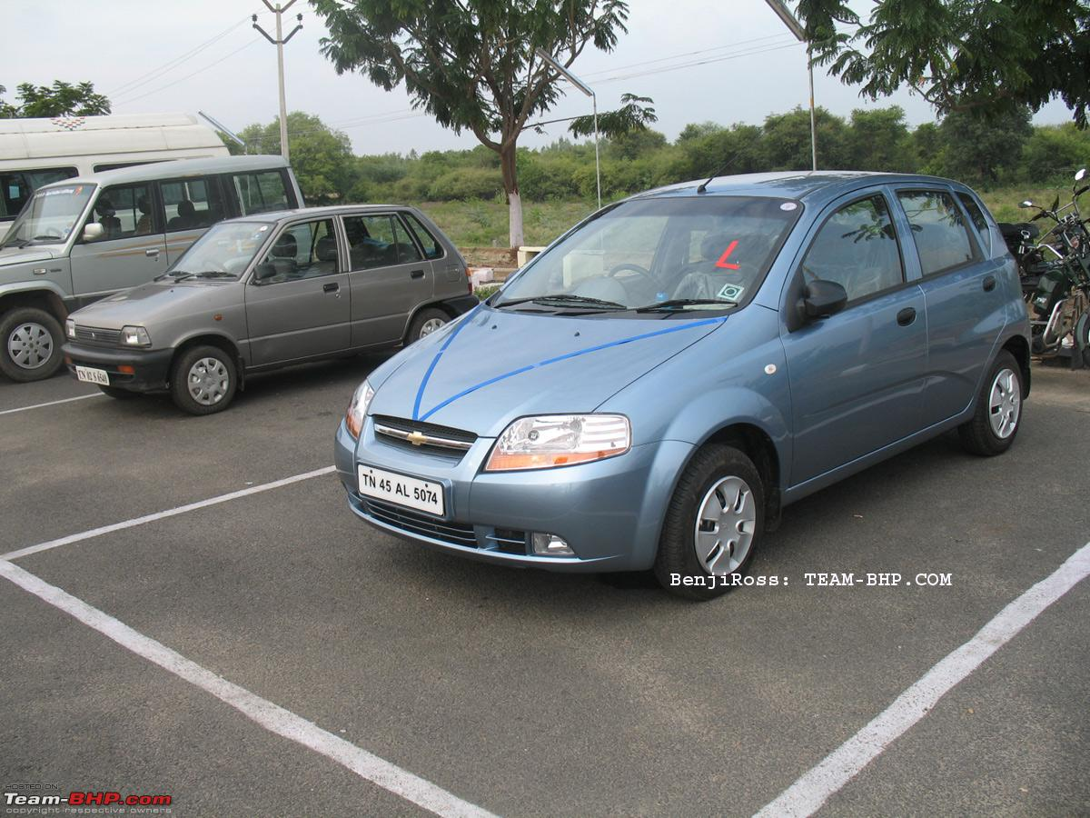 Incredibly ambitious incredibly spacious my icy blue chevrolet aveo u va 1 2 ls