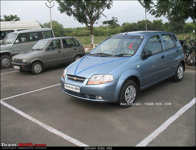 Incredibly ambitious & incredibly spacious - My Icy Blue Chevrolet Aveo U-VA 1.2 LS-sidefront.jpg