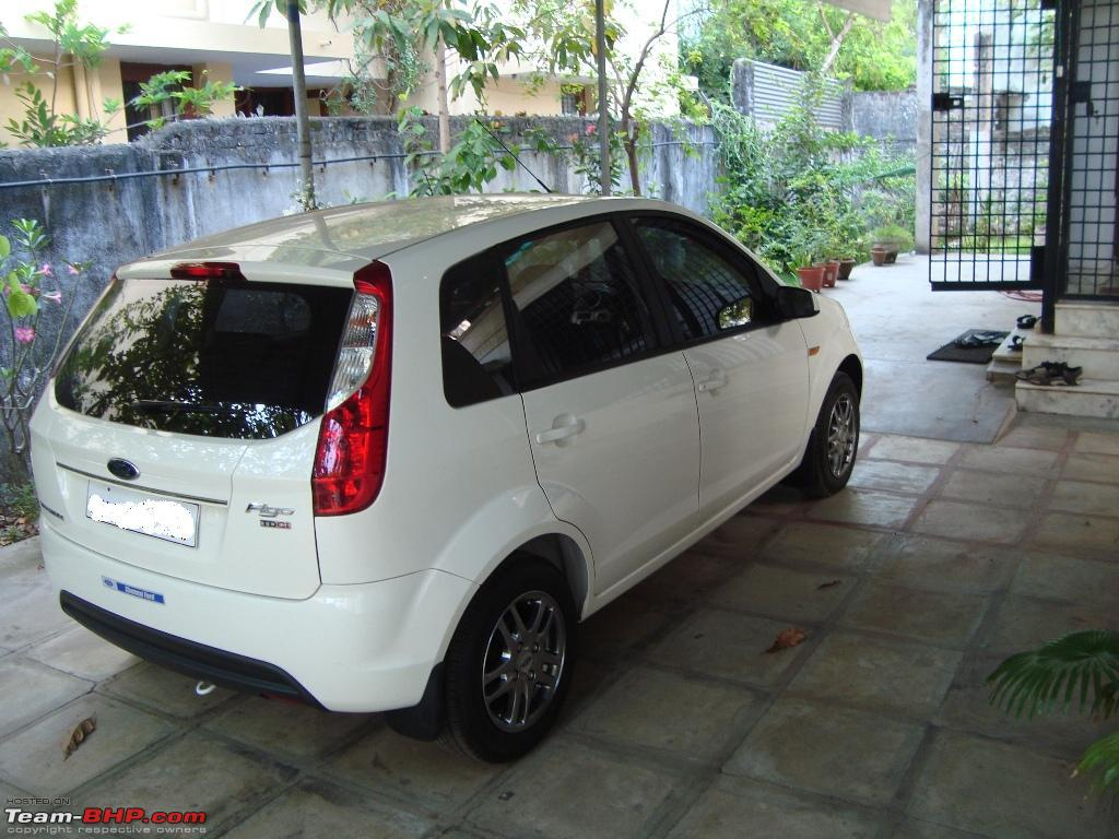 My White Ford Figo 14 TDCi Titanium Rear Right 3rd