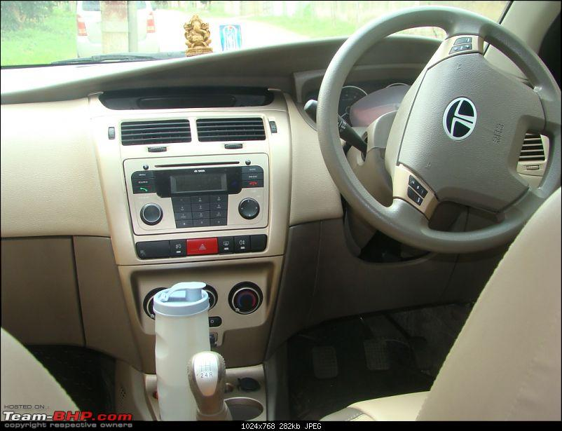 Tata Manza Aura+ : Well rounded Family Sedan, 6500Kms report-dashboard.jpg