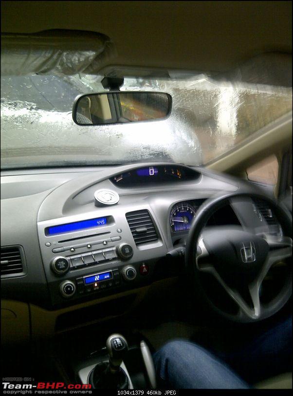 Finally some Civic Sense. My 15k kms, CIVIC 1.8 S M/T. Named Valentino.-img2011071900667.jpg