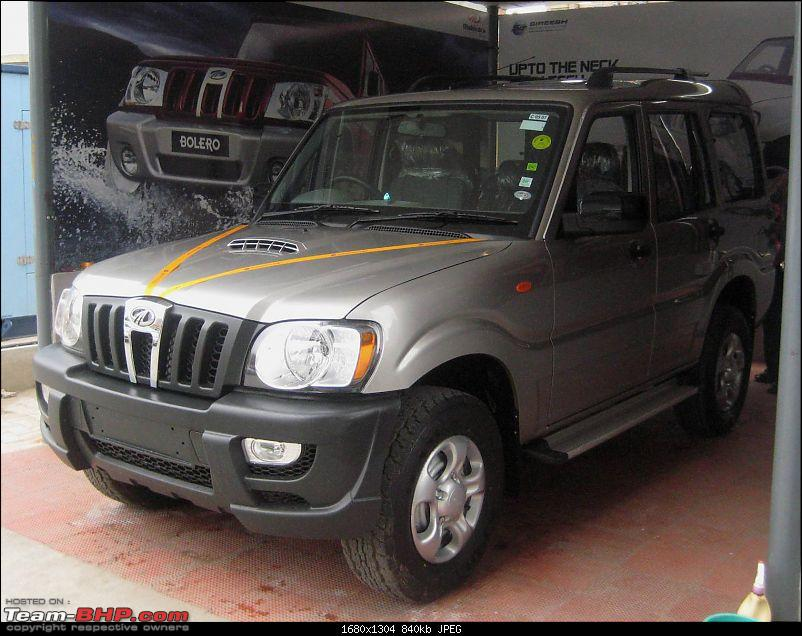 Bringing home the Mahindra Scorpio LX. EDIT : Scorpio finds a new home!-img_1302.jpg