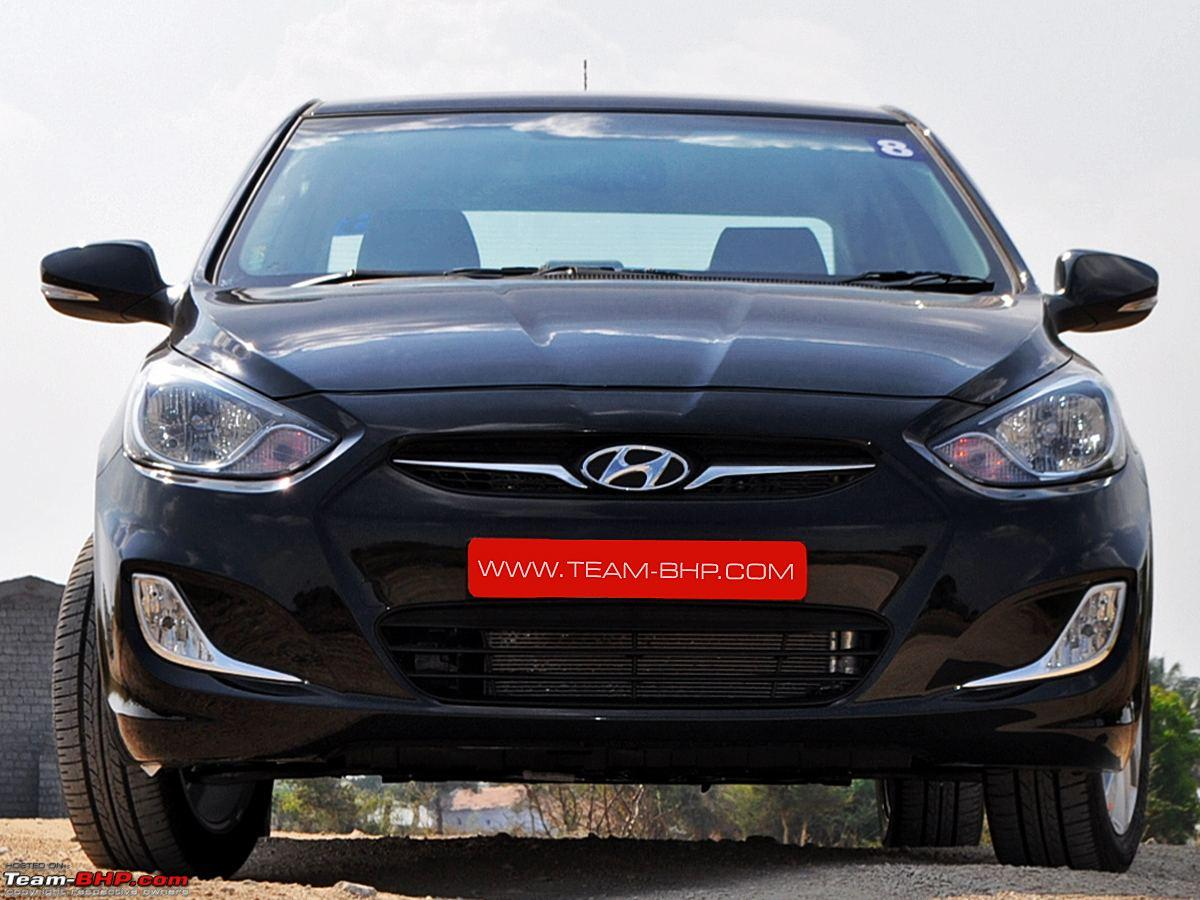 Driven Compared The Fluidic Hyundai Verna And New Ford Fiesta Hyundaiverna04