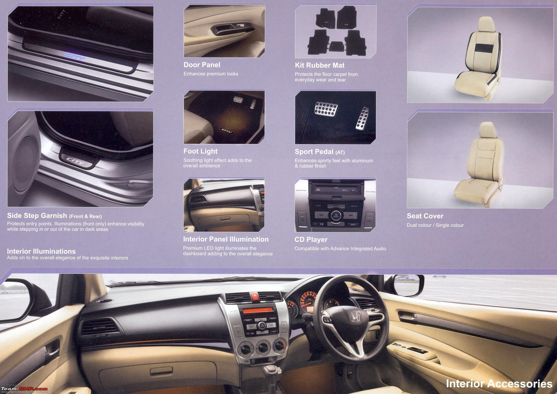 Beautiful 3rd Generation Honda City Driven Accessories_internal