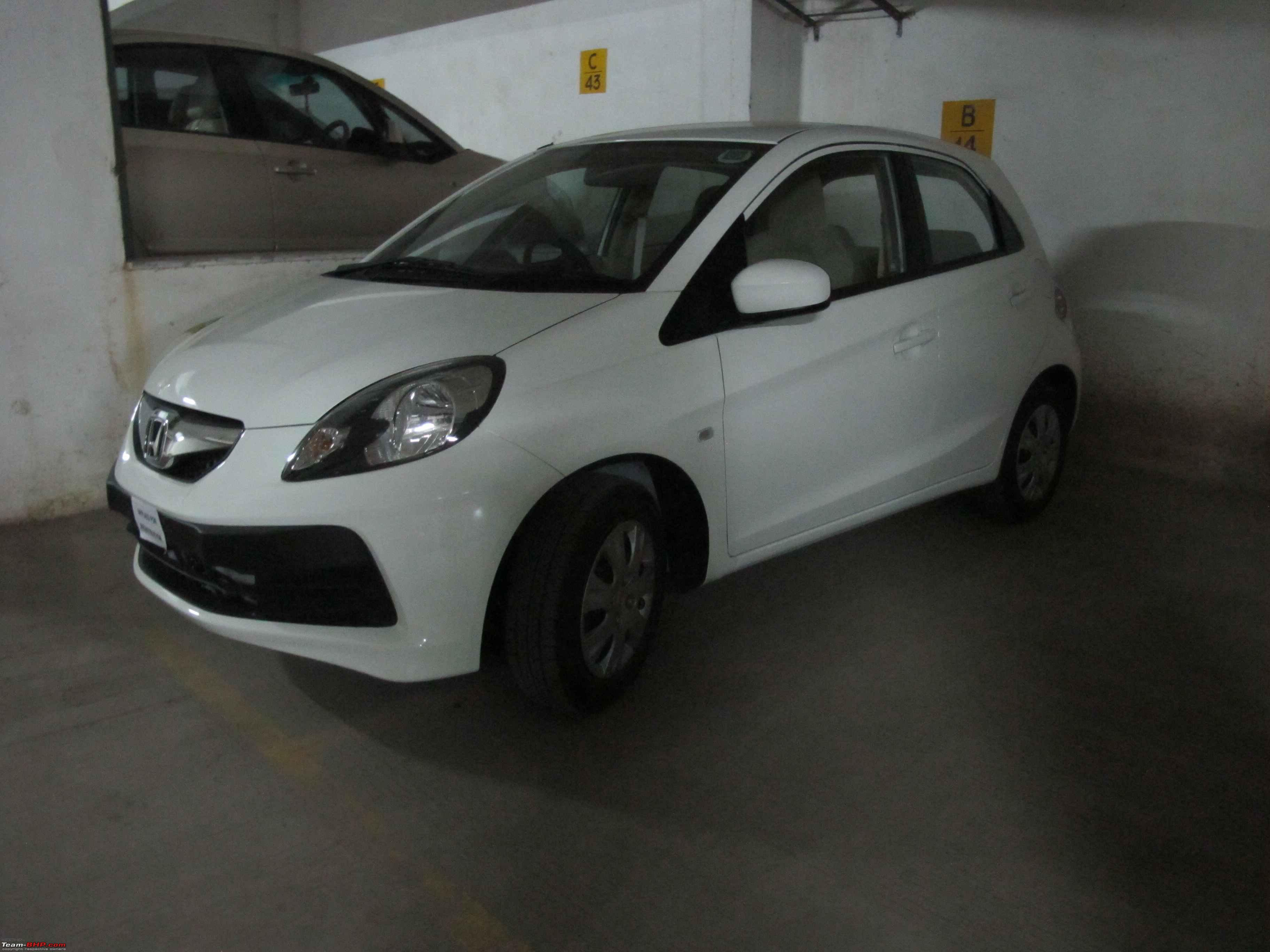 Honda brio ed for the first time