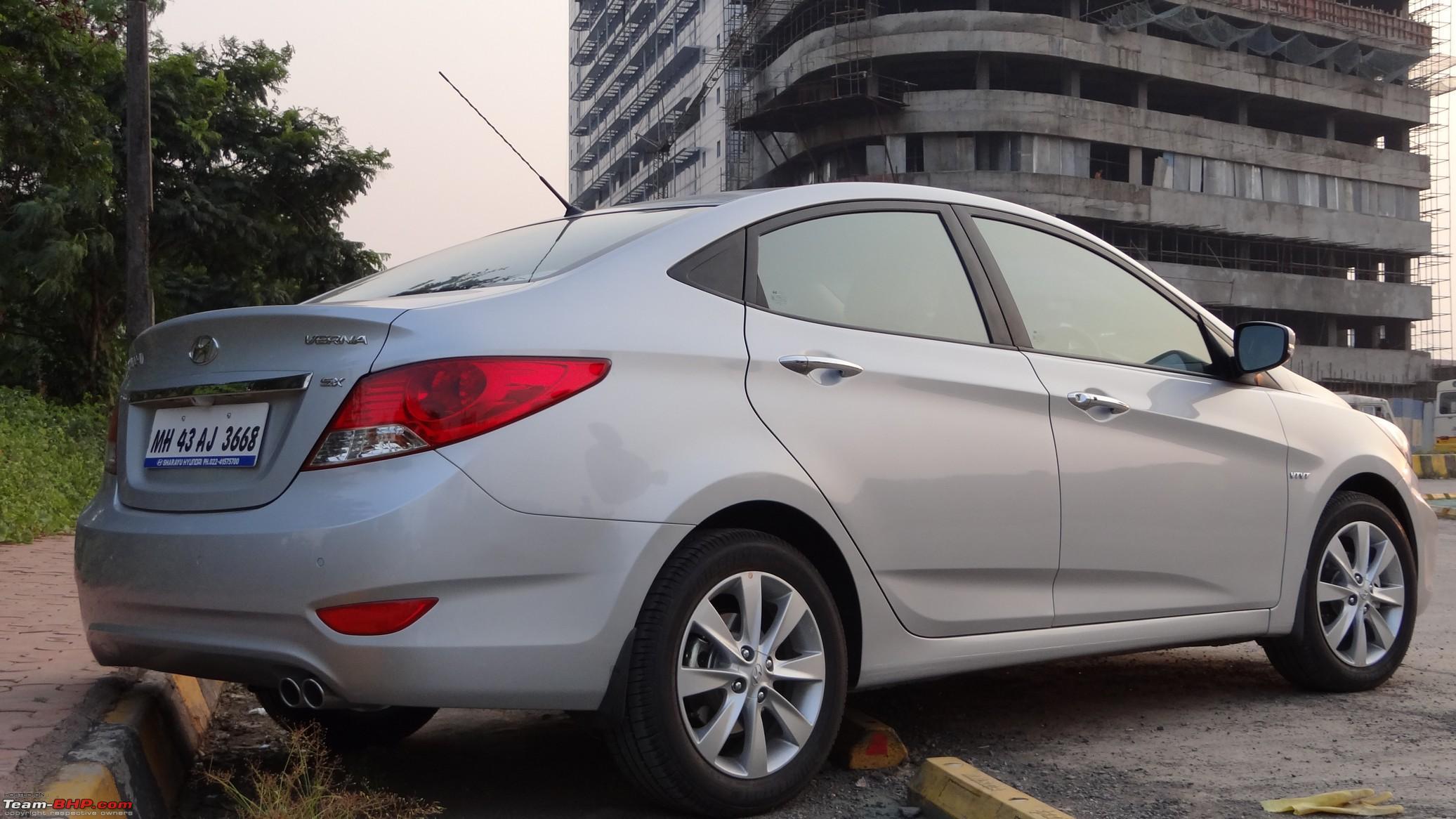 Fluidic Hyundai Verna 1 6 Sx O Vtvt Ownership Report Team Bhp