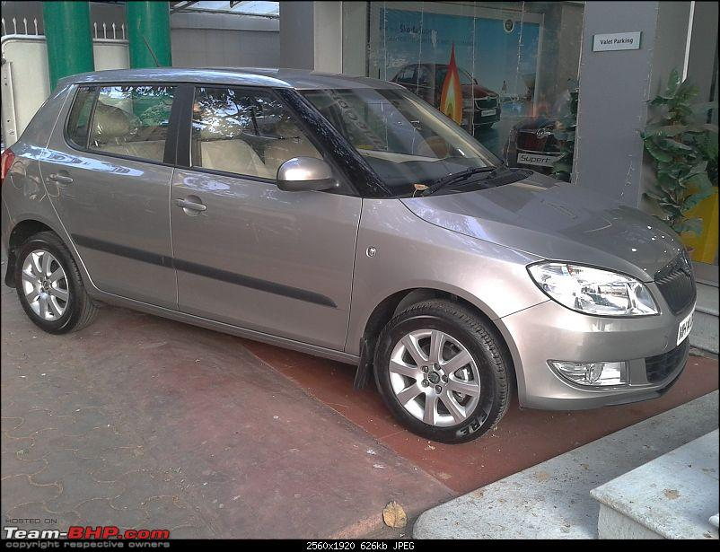 Cancelled Honda Jazz booking. Brought home a Skoda Fabia 1.6!-fabia-side.jpg