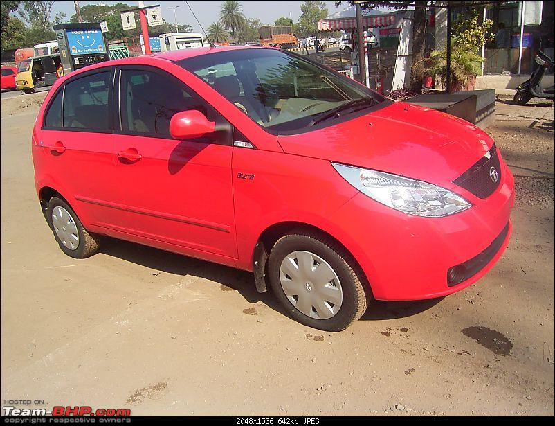 "Finally, got my gala red vista...welcome to ""Club V""- EDIT- Updated to 3000 kms-r0011430.jpg"