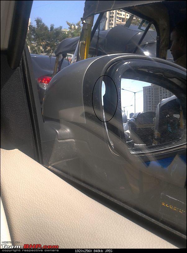 Cancelled Honda Jazz booking. Brought home a Skoda Fabia 1.6!-orvm.jpg