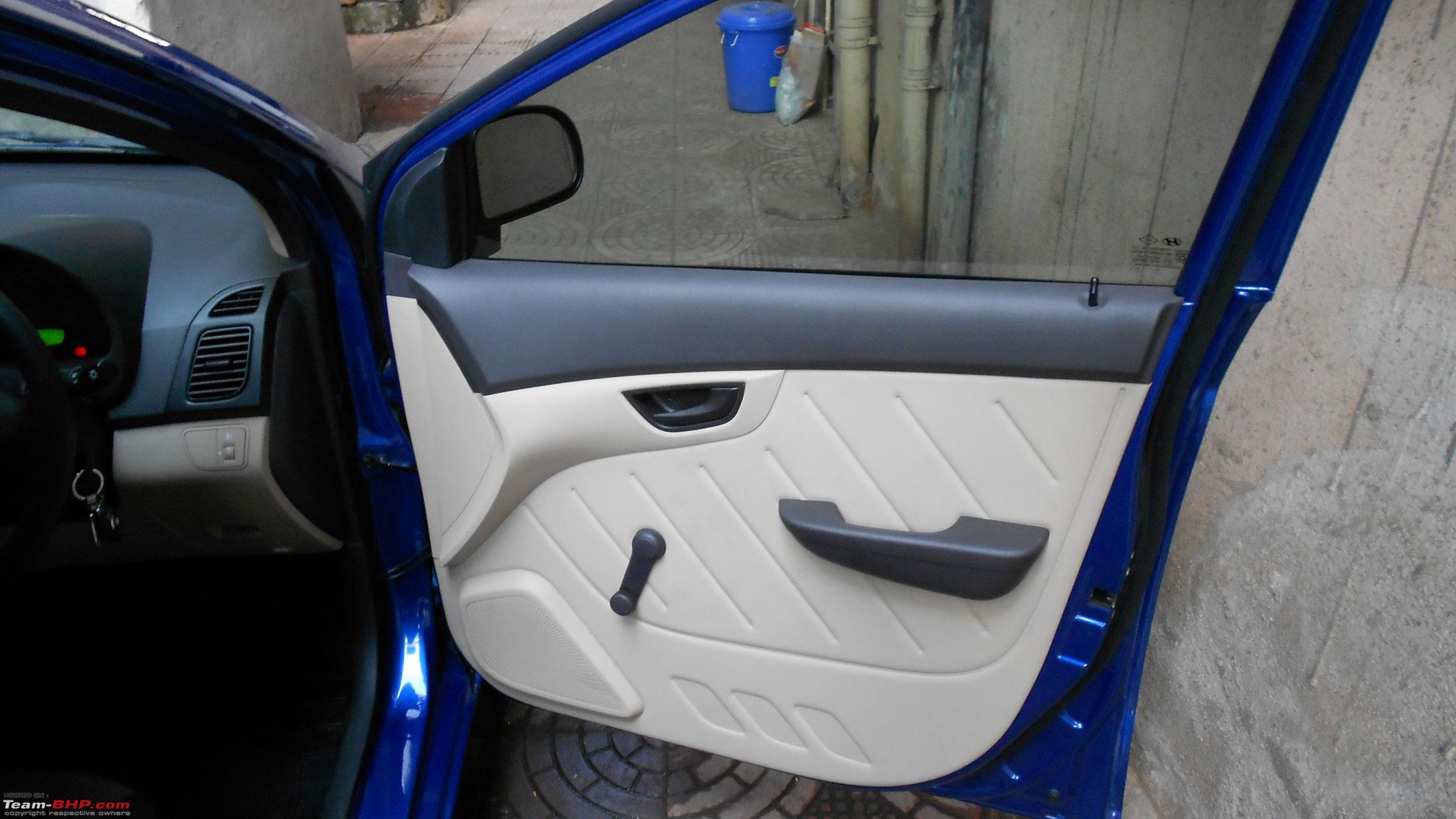The Blue Hyundai Eon Comes Home Team Bhp