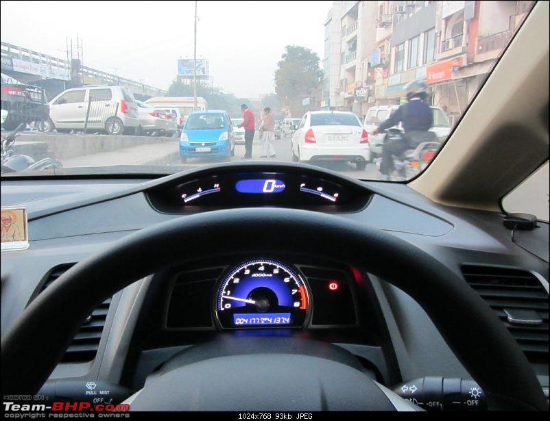 My Grey Hell Hound - Honda Civic SMT '11 - 5000 kms Ownership Report-img_0013.jpg