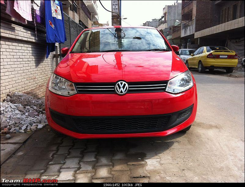 My horribly unreliable VW Polo. VW Moti Nagar fails again to rectify the problem!-img_1110.jpg