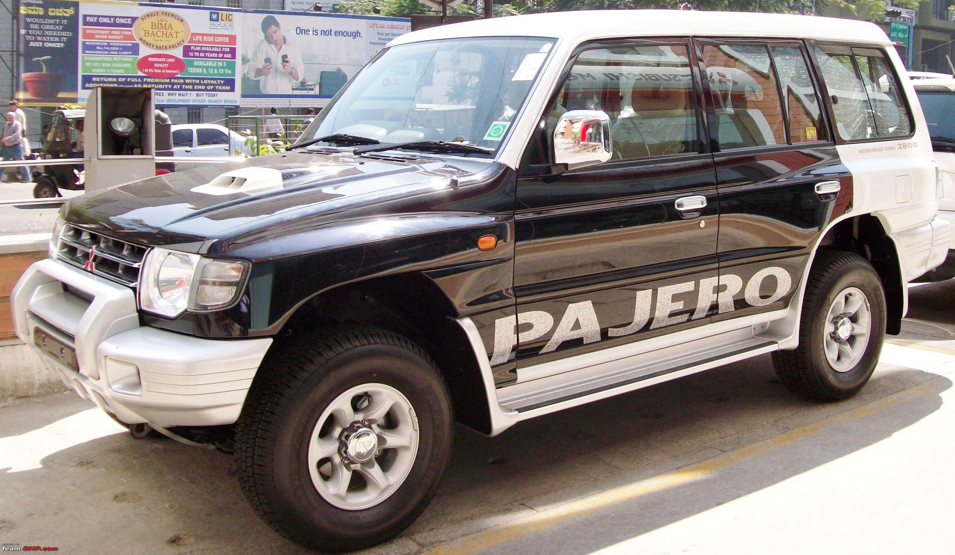 Mighty black paj it s my new ride mitsubishi pajero