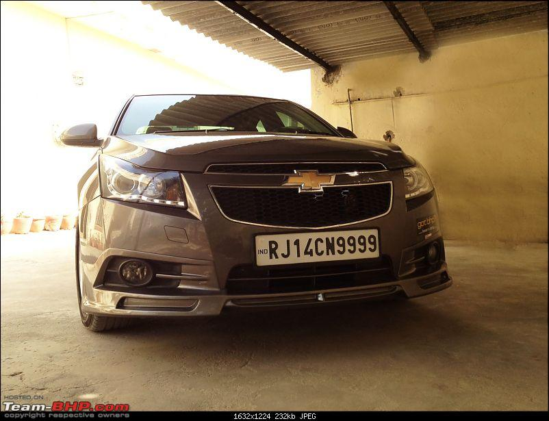 Chevy Cruze 12500kms update with minor mods-2.jpg