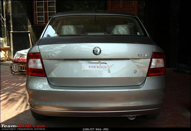 Skoda Rapid - A Skoda Fans New Toy-rear-straight.jpg