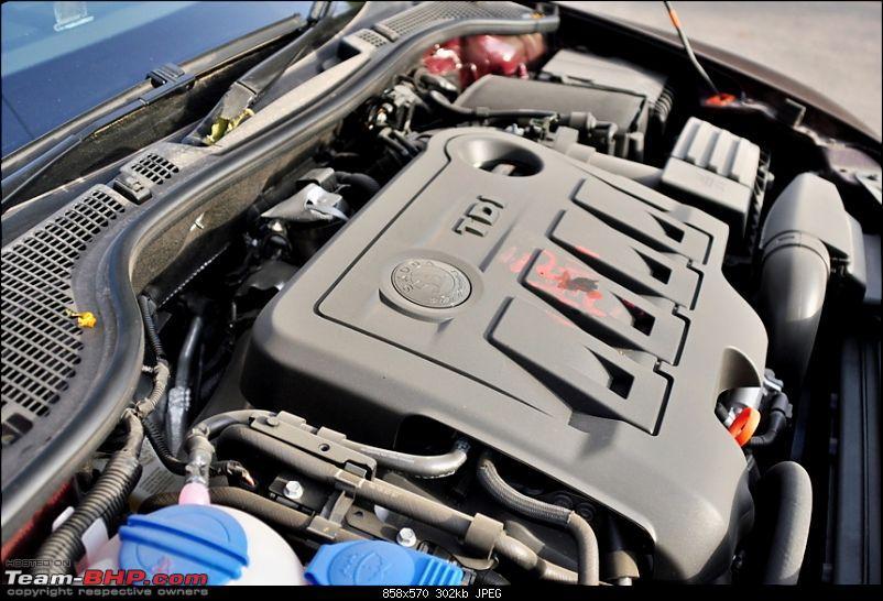 Skoda Laura Ambiente MT TDI. EDIT: A poor experience with Giriraj Motors-engine34.jpg