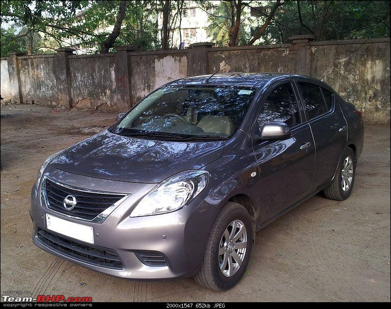 Sunny days are here again... (Nissan Sunny Diesel XL)-front-quarter.jpg