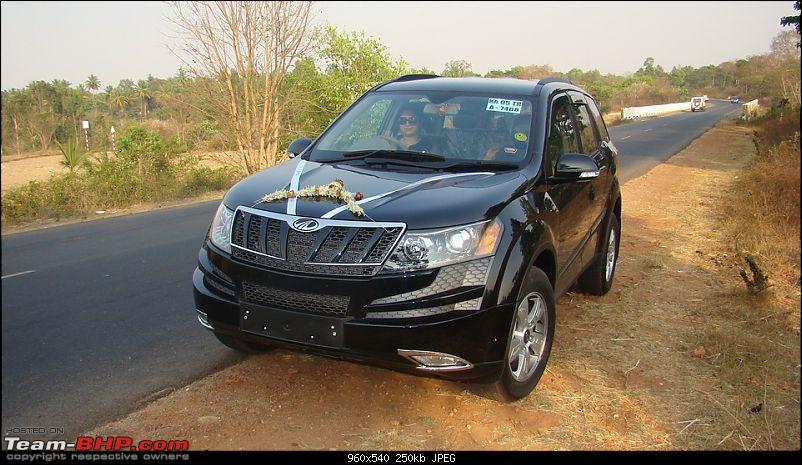 The Gallery For Gt Xuv 500 Black Colour Hd