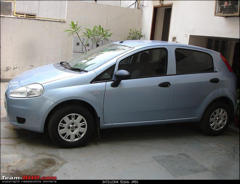 Le Bleu is here! - Fiat Grande Punto 1.3 Multijet  Active-sideview.jpg