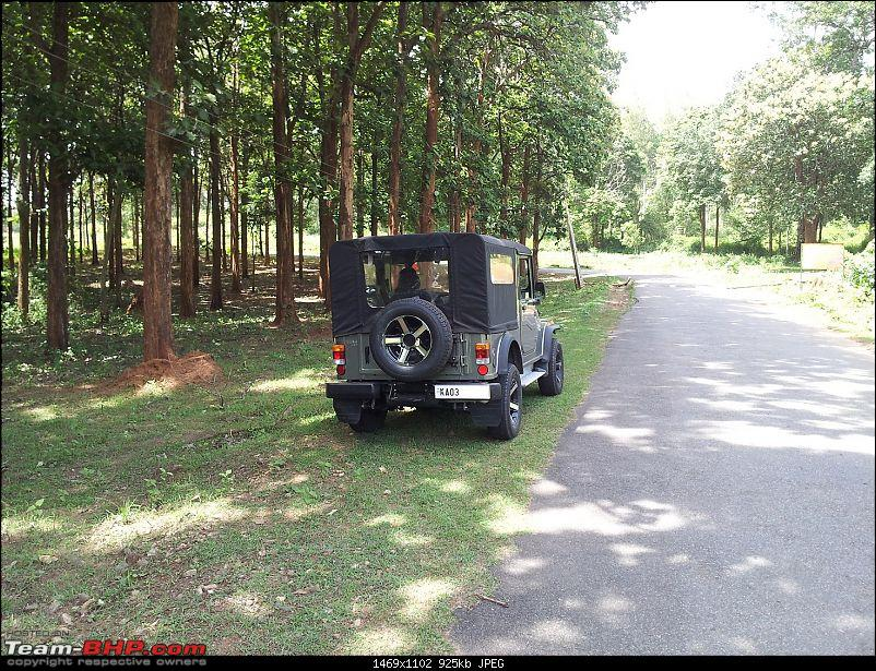 Call of the wild - Mahindra Thar CRDe-rh-rear.jpg