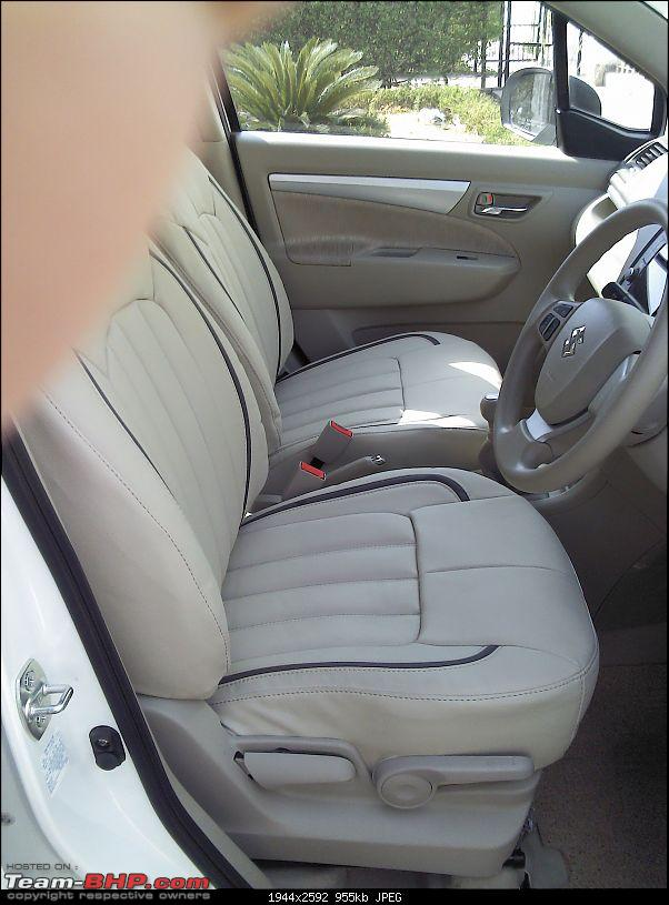 I am in LUV literally - My Maruti Ertiga ZXI-seat-covers-front.jpg
