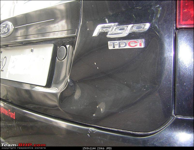 Review: 1st-gen Ford Figo (2010)-bootdamage.jpg