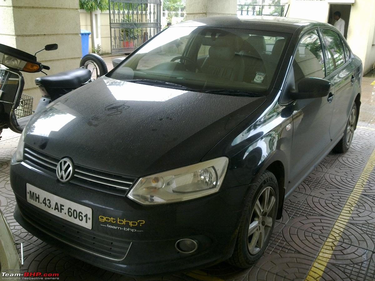 Dark Knight Has Arrived Vw Vento Tdi Highline Edit 5th