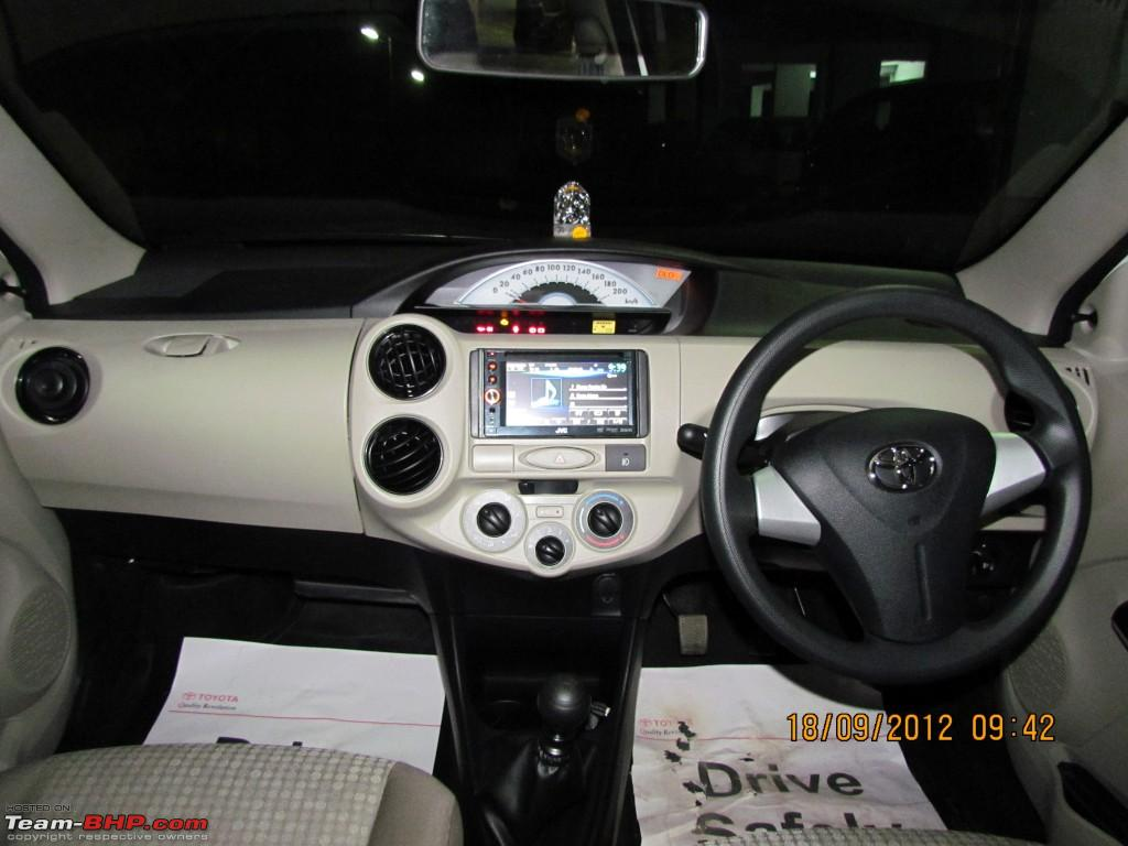 My Toyota Liva Gd Sp 2012 Refresh Model Team Bhp