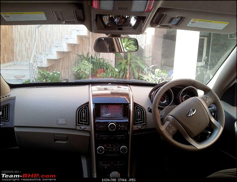 My First Diesel car - Mahindra XUV 5OO - Power unleashed-20120923_153518.jpg