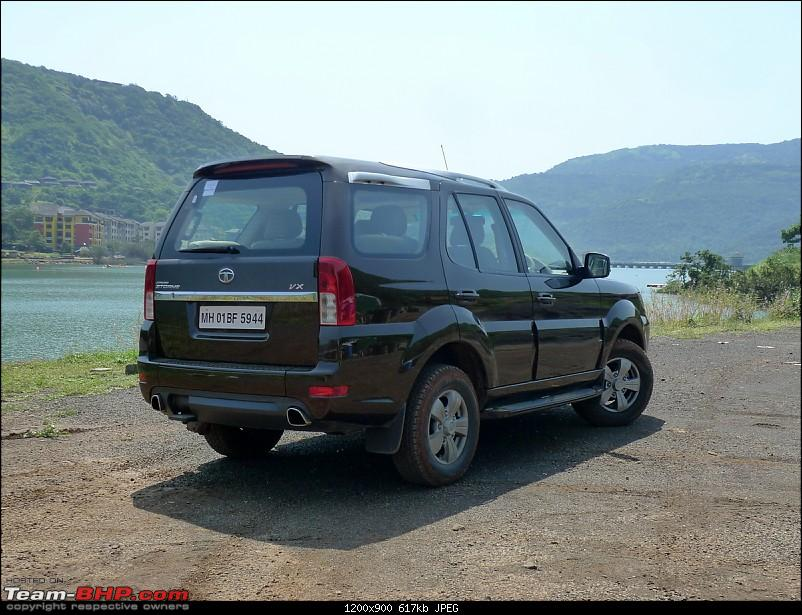 Tata Safari Storme : Test Drive and Review. More pics: pg 47-tata-safari-storme004.jpg