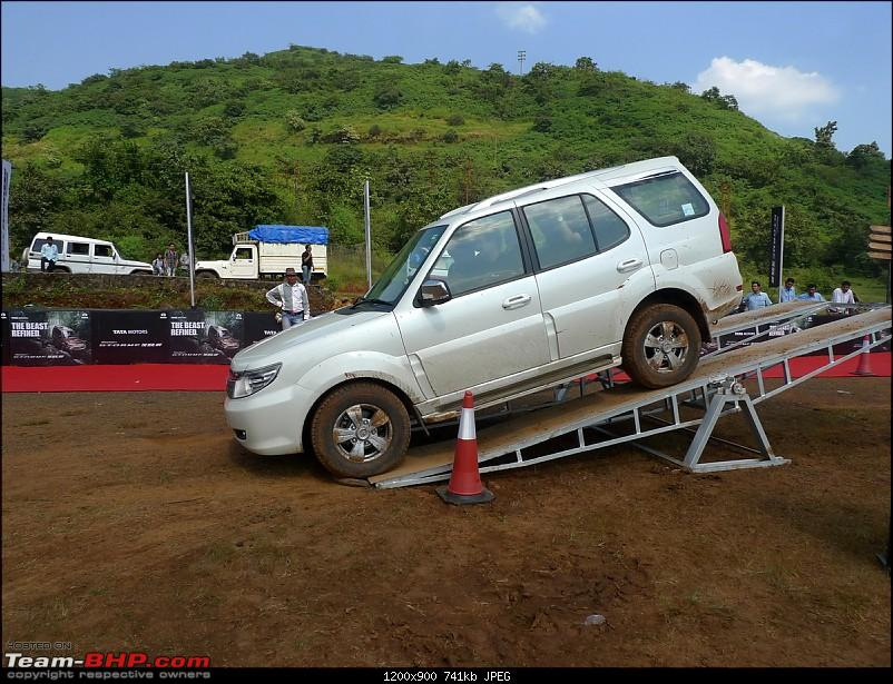 Tata Safari Storme : Test Drive and Review. More pics: pg 47-tata-safari-storme054.jpg
