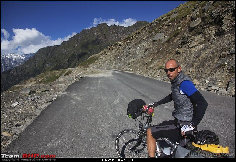 Extreme Expedition - Bicycling Manali-TsoKar-Leh-Khardungla & Stok Kangri summit trek-marhi-rhotangi18.jpg