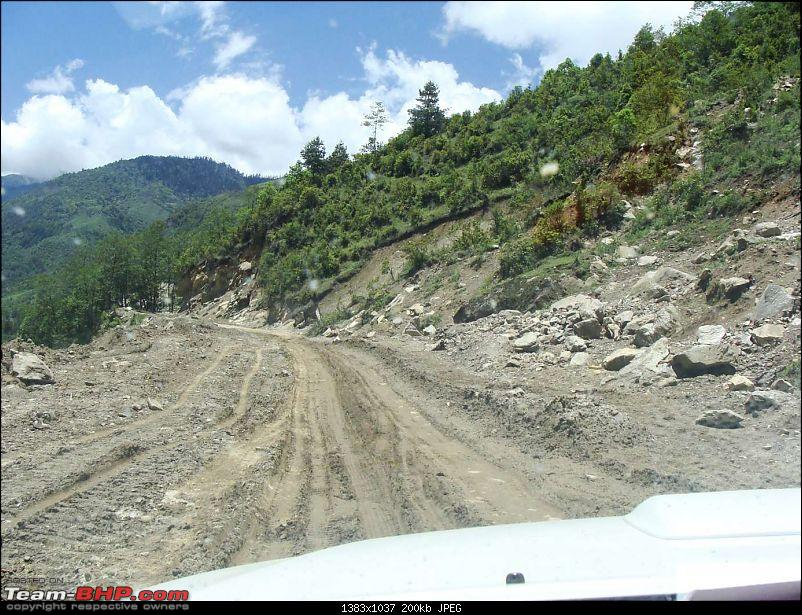 Roadtrip to The Middle of Nowhere... Monyul (Tawang) and More-road-1.jpg