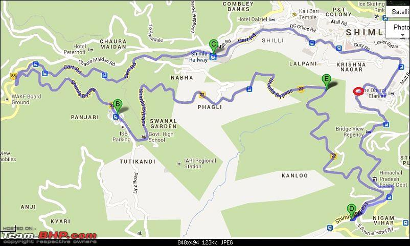 Road Trip to Chail -> Kufri -> Shimla -> Chandigarh-traffic-jam-shimla.jpg