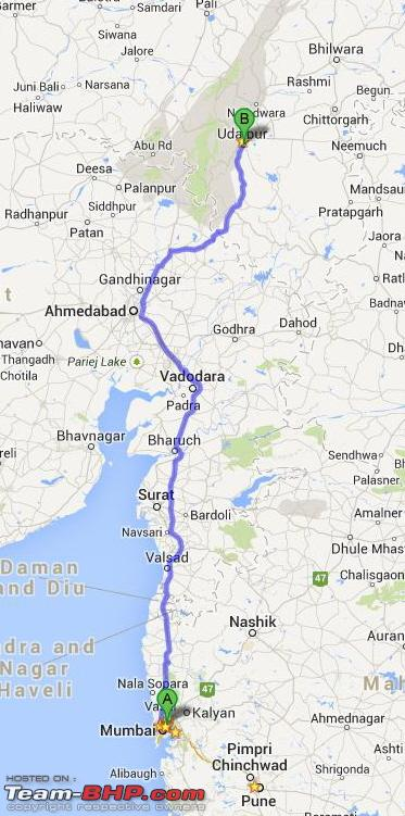 Name:  0  FW0  Mumbai  Udaipur 764 Route.jpg