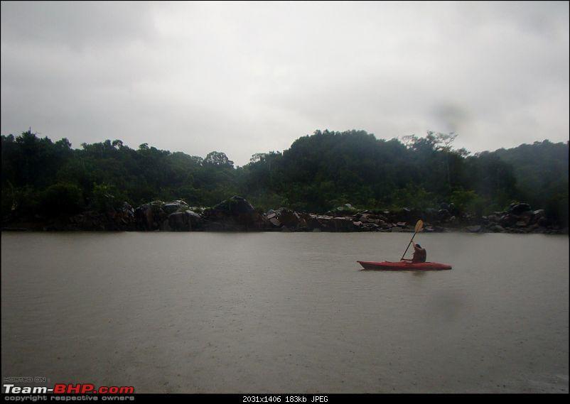 Monsoon Break 2013…Hills, waterfalls and temples (Redux) : Mumbai to Karnataka-bison-2-kayaking.jpg