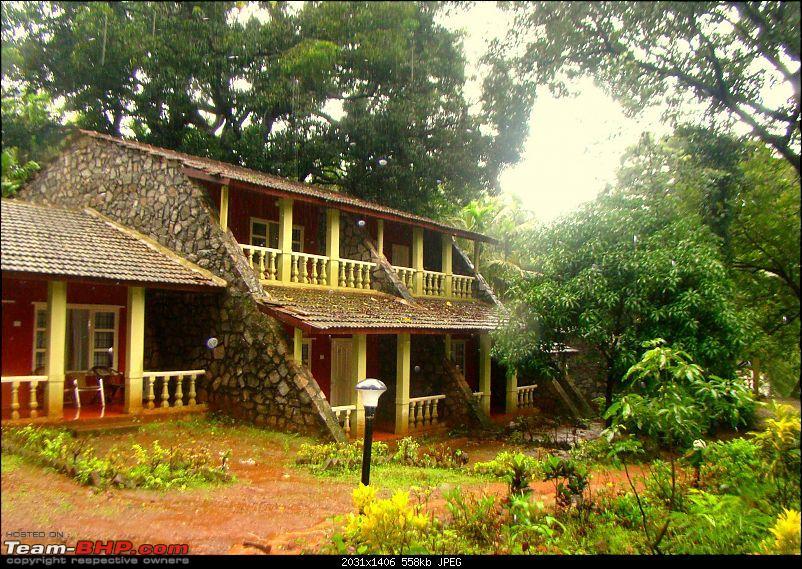Monsoon Break 2013…Hills, waterfalls and temples (Redux) : Mumbai to Karnataka-bison-accomodation.jpg