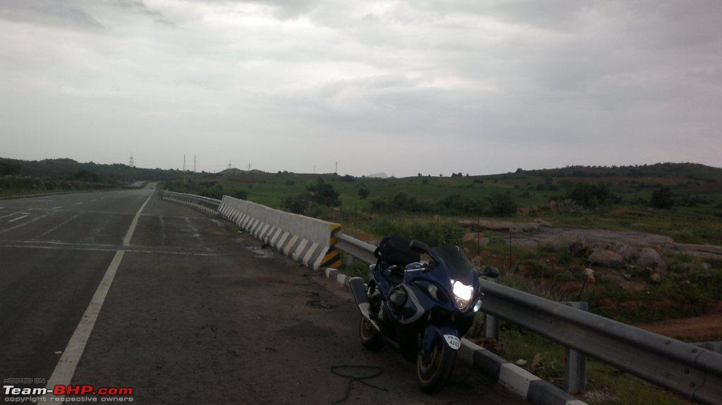 Bangalore -> Hyderabad on a Suzuki Hayabusa! - Team-BHP