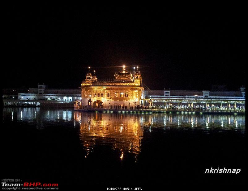A glimpse of Paradise (Leh): 7300 kms, 8 States in a Linea-golden-temple-1.jpg