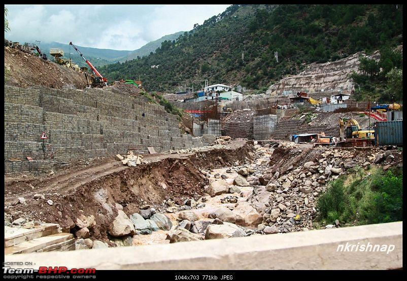 A glimpse of Paradise (Leh): 7300 kms, 8 States in a Linea-udampur-tunnel-work.jpg