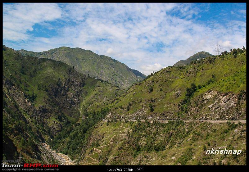 A glimpse of Paradise (Leh): 7300 kms, 8 States in a Linea-patnitop-highway-2.jpg