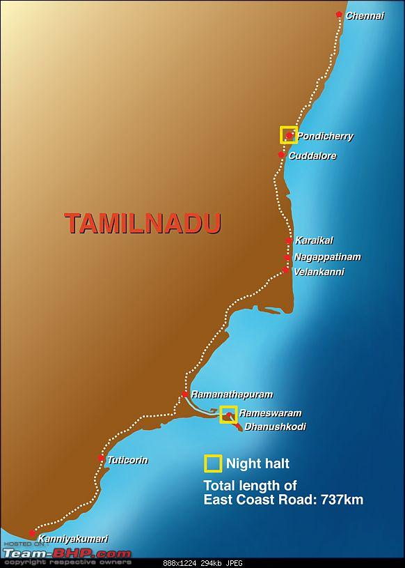 Amazing Discovery Drive: Thiruvananthapuram to Chennai in a Honda Amaze-ecrmap.jpg