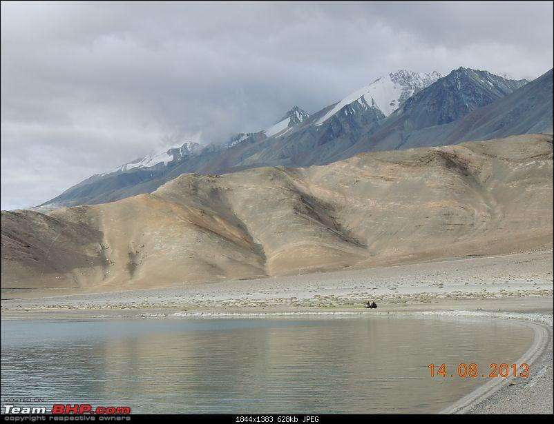 A Biker's Anthem: Ladakh-bikers-lake.jpg