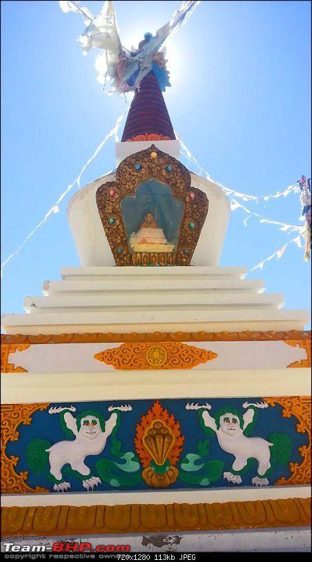 Spiti Expedition 2013-stupa-dhankar-lake.jpg