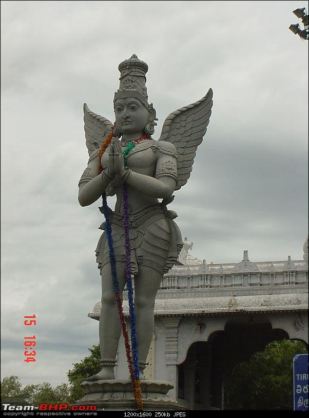 Weekend Travelogue: 3 Satyamites seeks blessings from the lord of seven hills-garuda.jpg