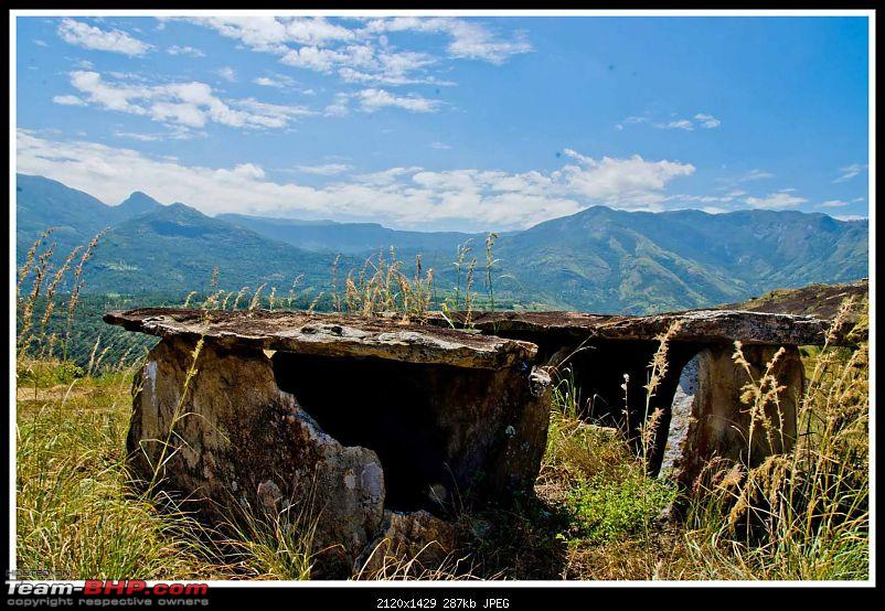 Wanderlust Traveller - Call of the Hills: Munnar, Thekkady &amp; Idukki-suh_9987.jpg <br /> Some of the bigger Dolmens are fenced<br /> <br /> <a href=