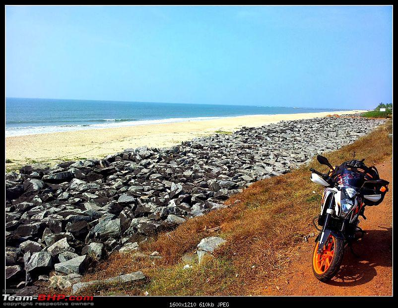 A Tale of a Coast, Beaches and Temples: My 1st Solo Ride-20140102_142914.jpg