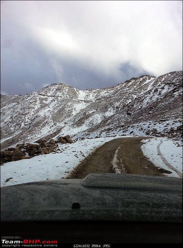 Bangalore to Ladakh - A drive as great as the destination-rphtang-slush-ice.jpg