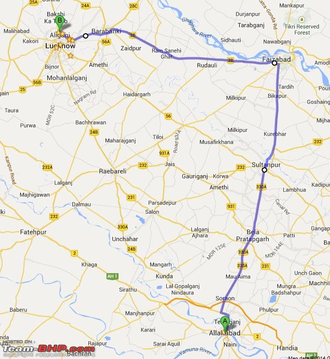 Name:  Allahabad to Lucknow Route 2.jpg Views: 5116 Size:  184.9 KB